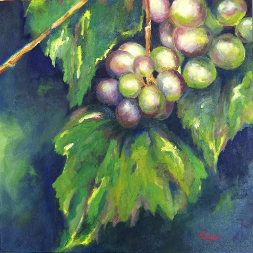 Abide   24x24  oil painting  SOLD