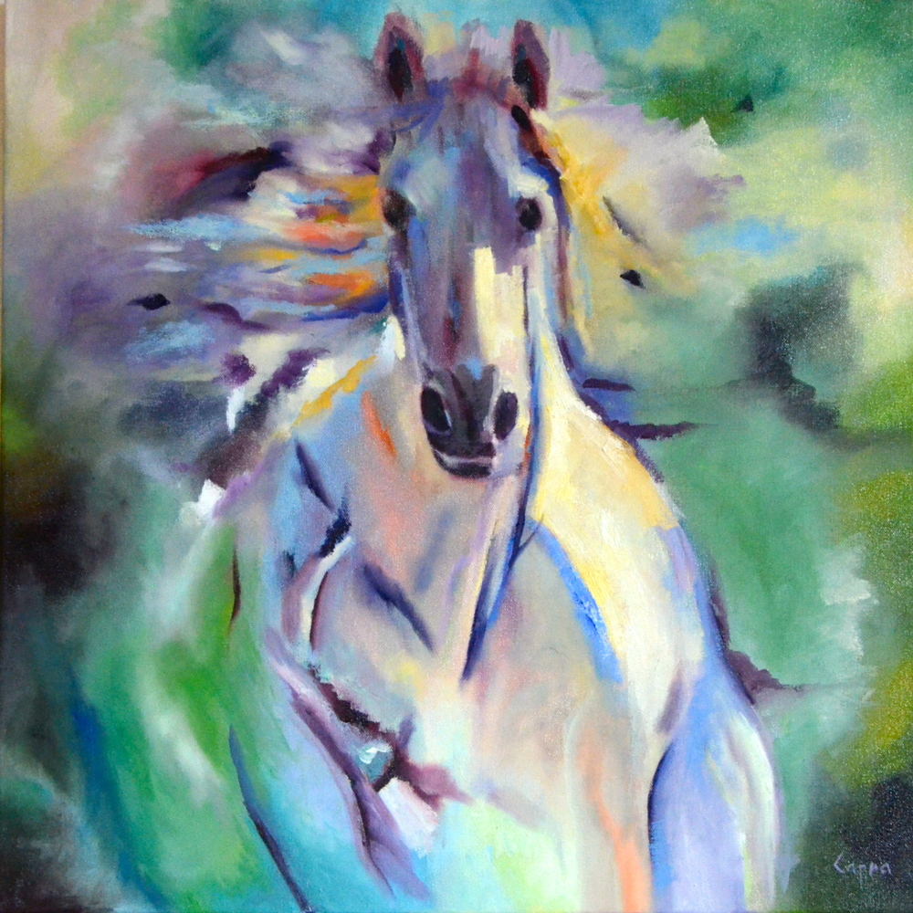 Purposed Mercy   24x24  oil painting  SOLD