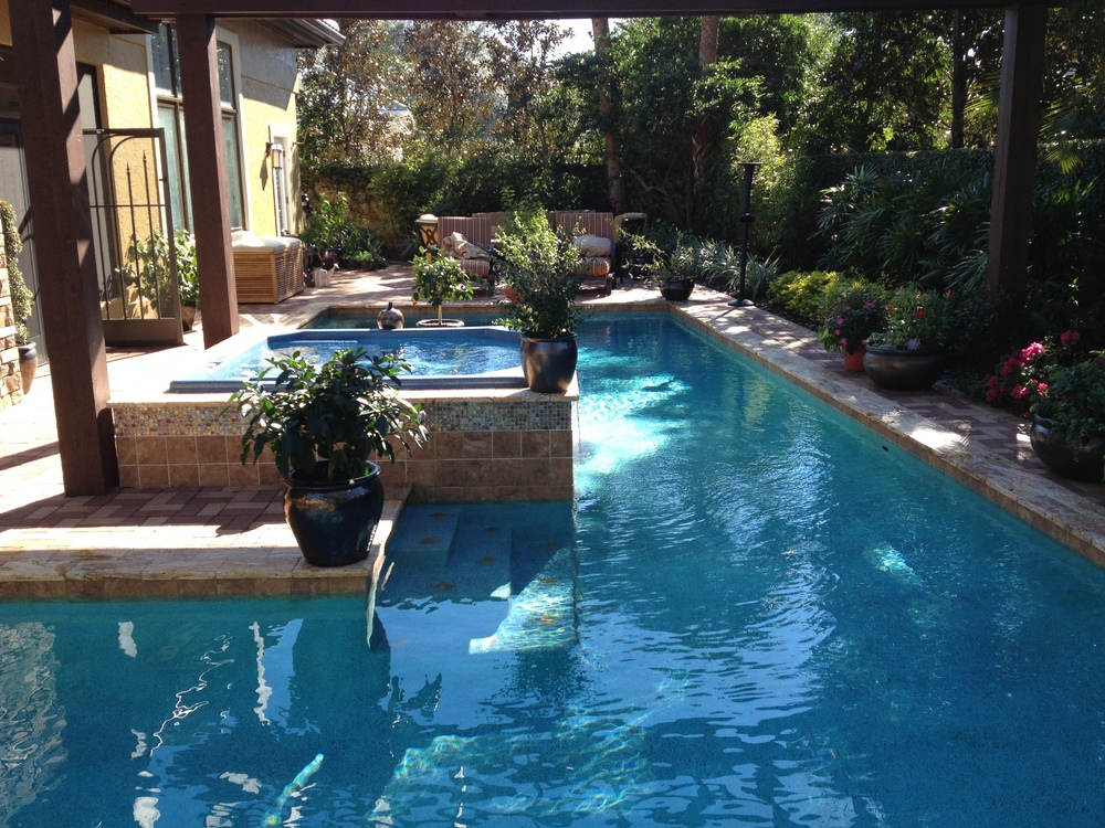 Backyard Oasis Designs fig & vine garden design
