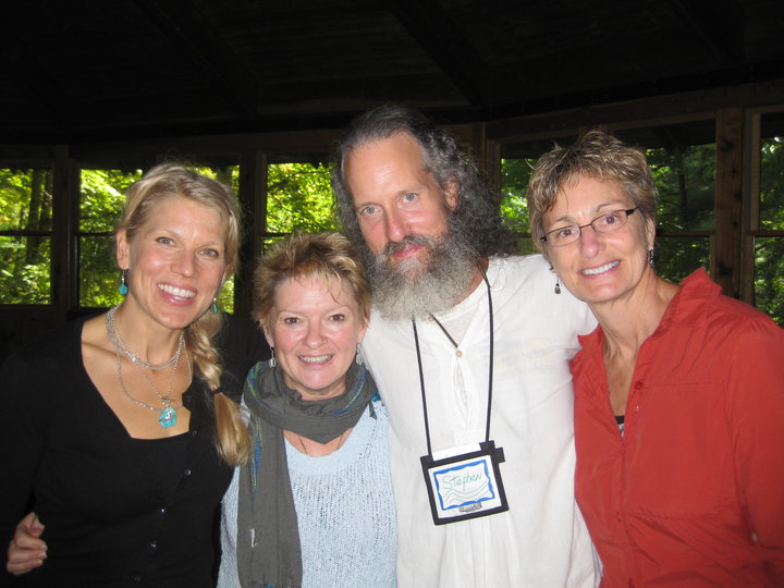 Stephen with Four Winds faculty and students at the Omega Institute