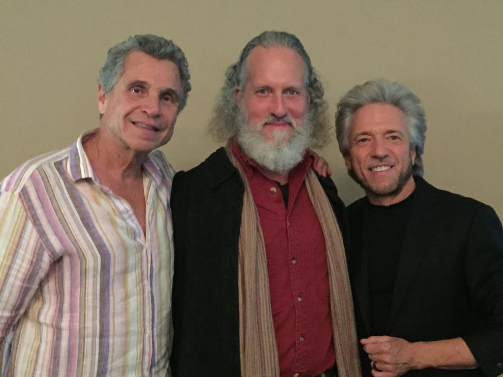 Dr. Alberto Villoldo, Stephen M. Feely, and Gregg Braden, author of  The Divine Matrix