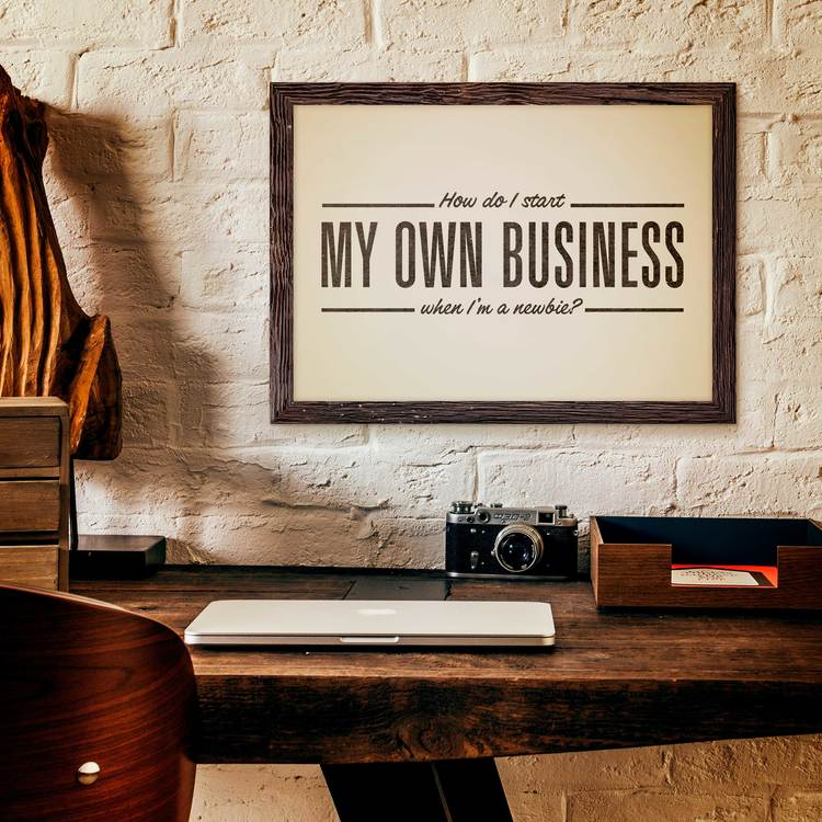 What all do I need to do before I am able to start my own business?