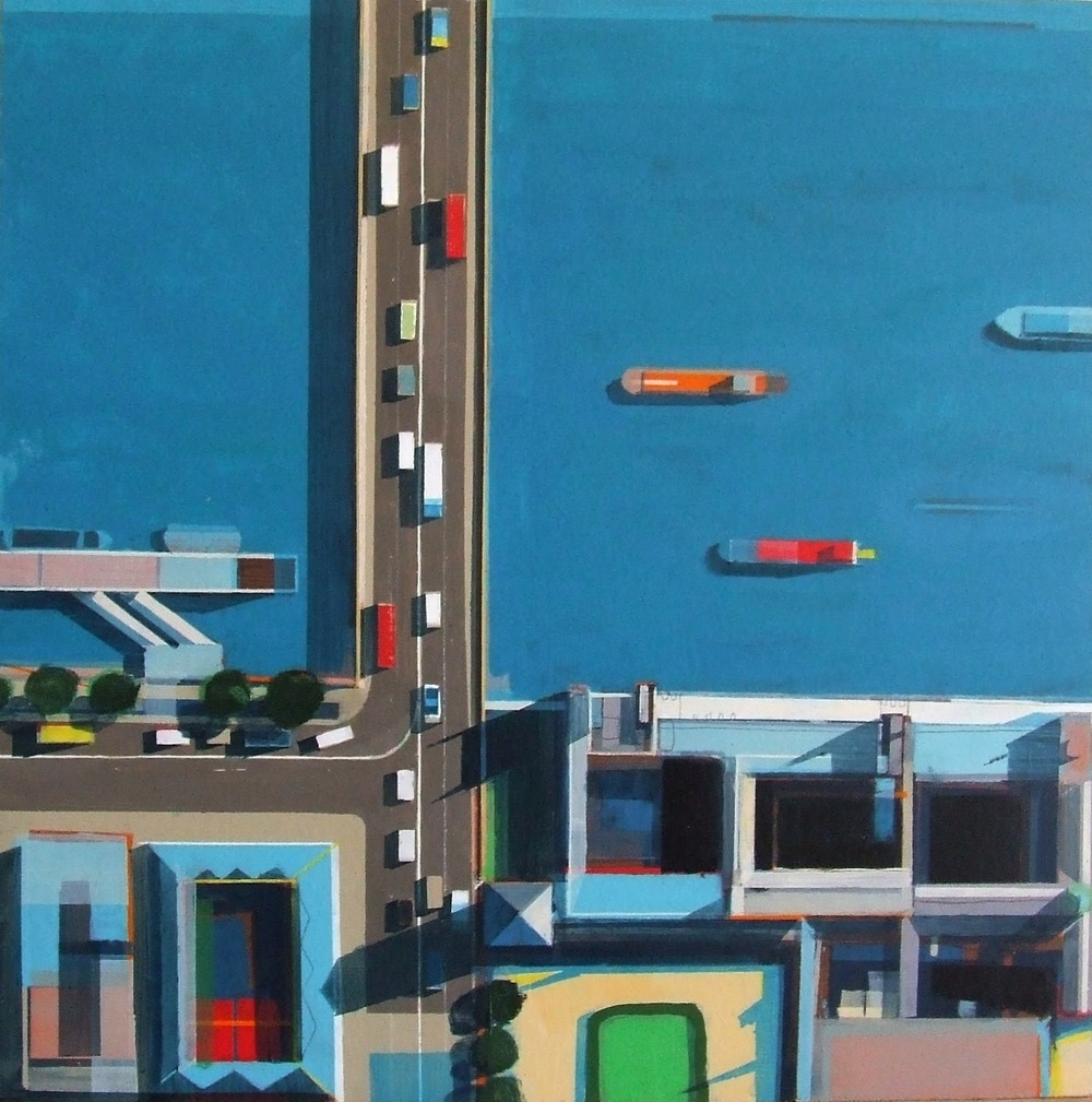 Artist Alistair Lindsay.