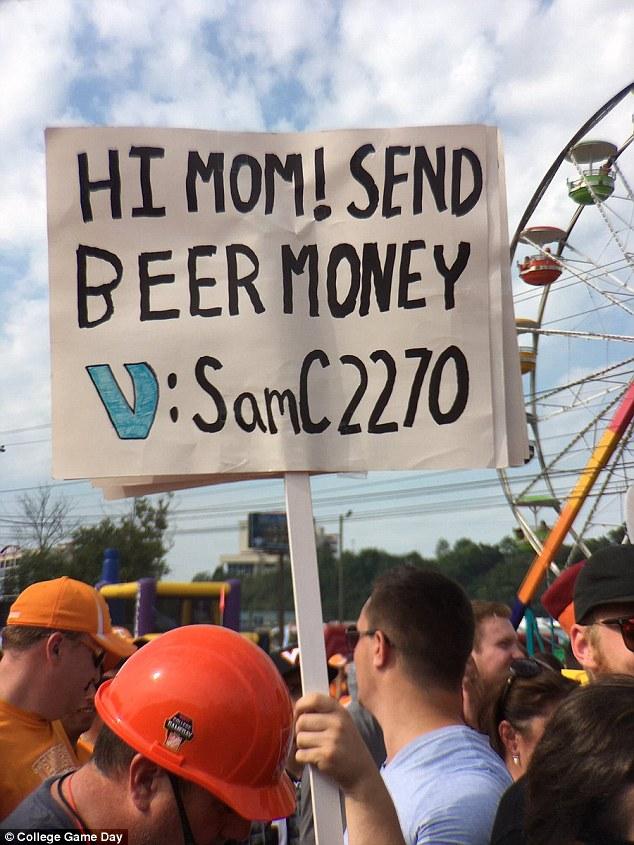 The original sign