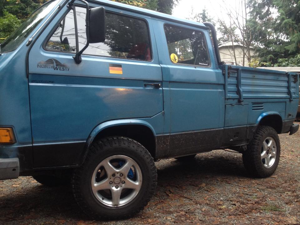 Our old Syncro Doka now residing in Arizona