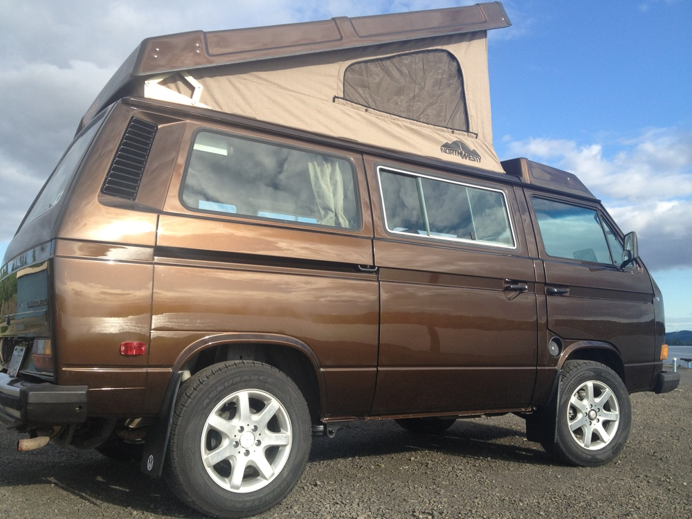 Marrakesh Brown with North Westy canvas