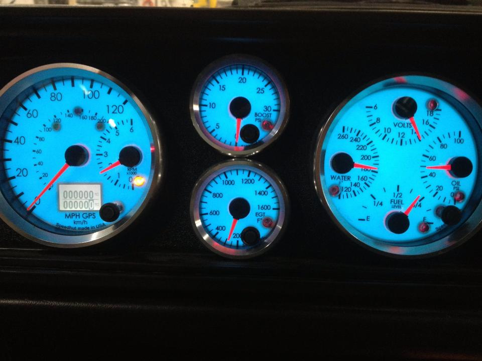 A few custom TDI gauge panels we made for our conversions