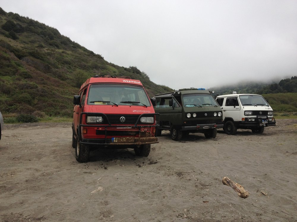 USAL Road trekking with Das Mule & AA Trans!
