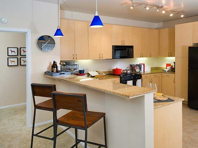 Archstone Studio City Kitchen