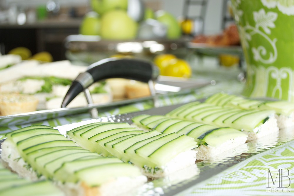 Sandwich Tray Detail