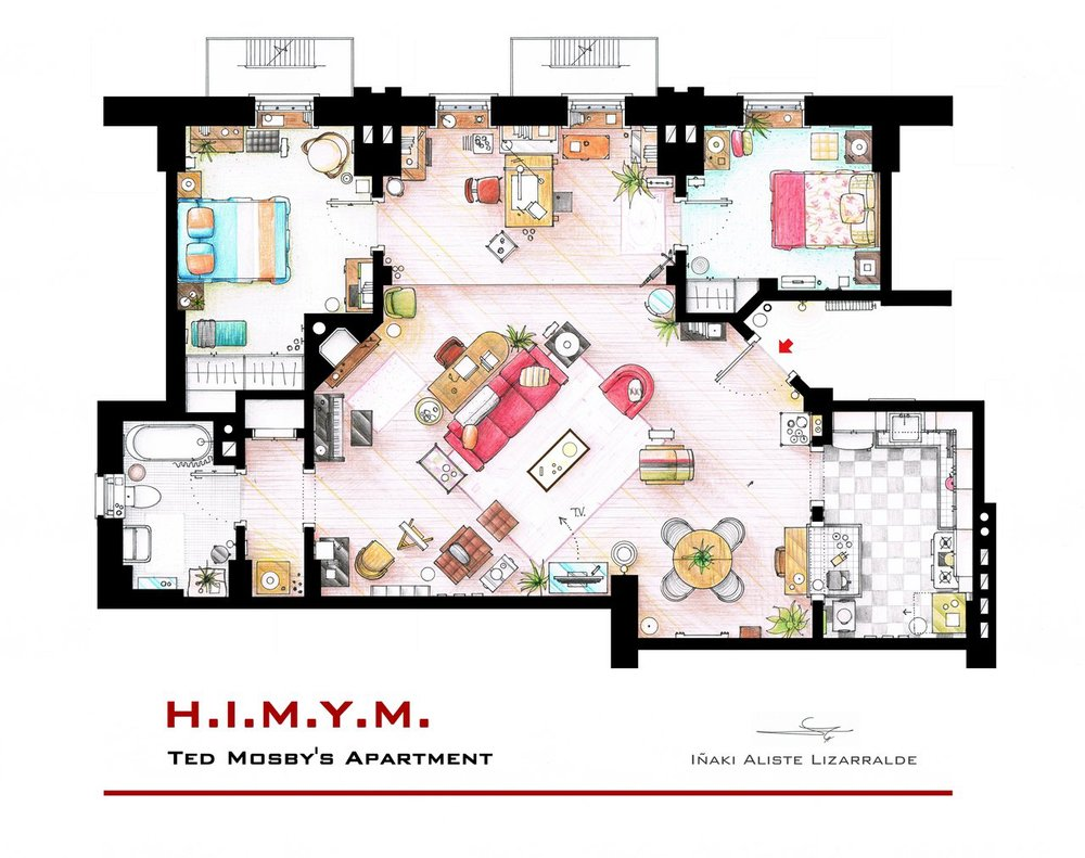 Blog matthew berthold for Gossip girl apartment floor plans