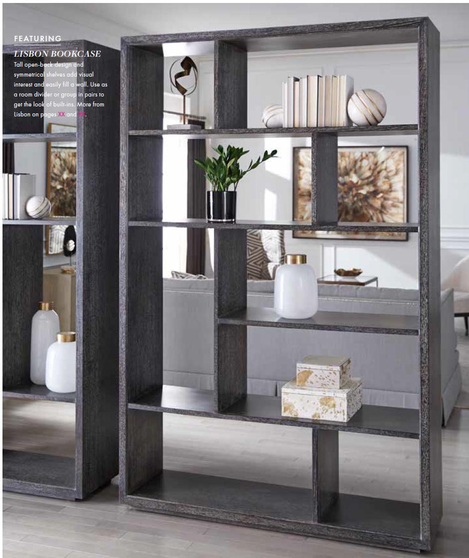 Bookcase Vignette