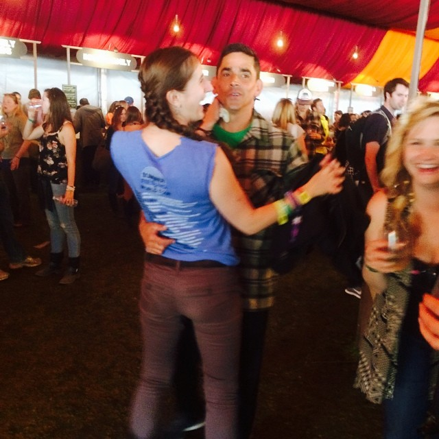 Waltzing and tattooing... Waltztooing. #outsidelands