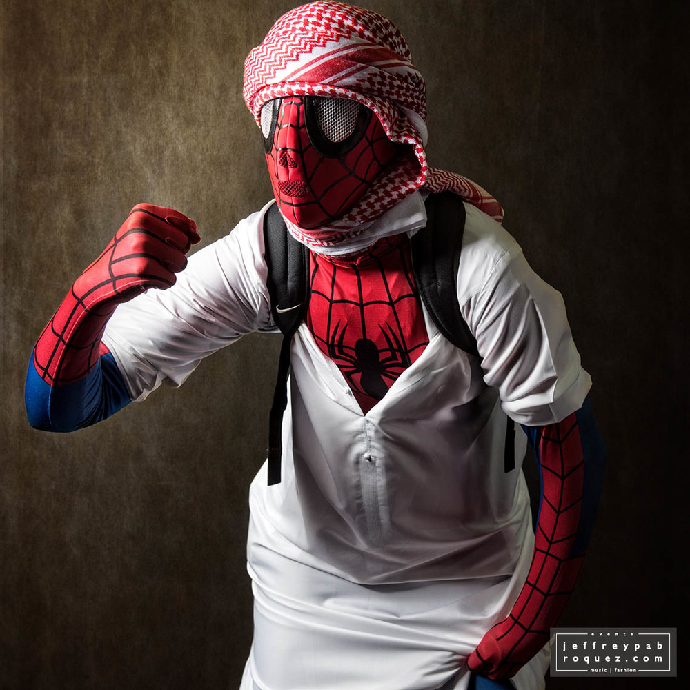 The Arabic Spiderman