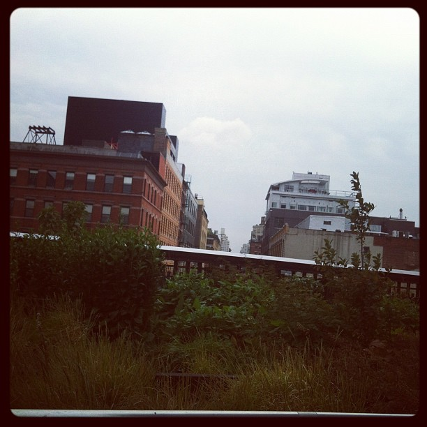 High Line, or GRAY LIKE MY SOUL.  (Taken with  Instagram )