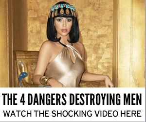 Women dressed up like ancient Egyptians are totally going to kill you. Thanks, Ad on the Internet.