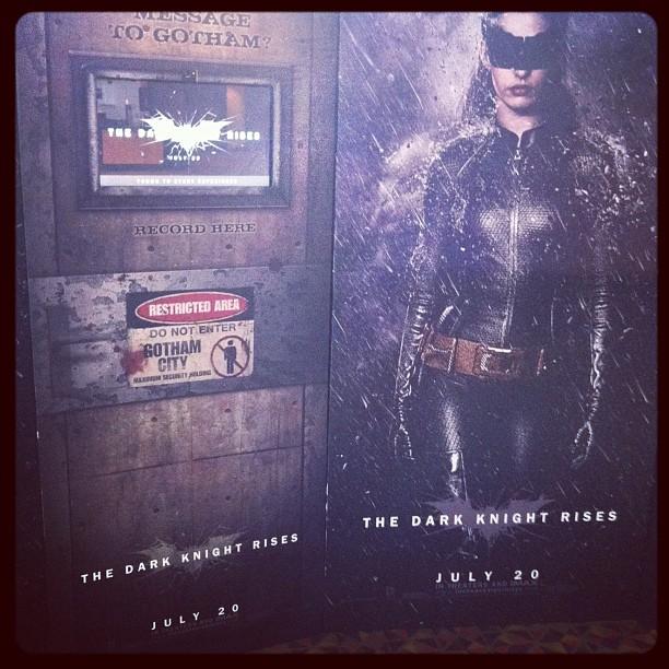 Message to Gotham: drop dead (Taken with  Instagram )
