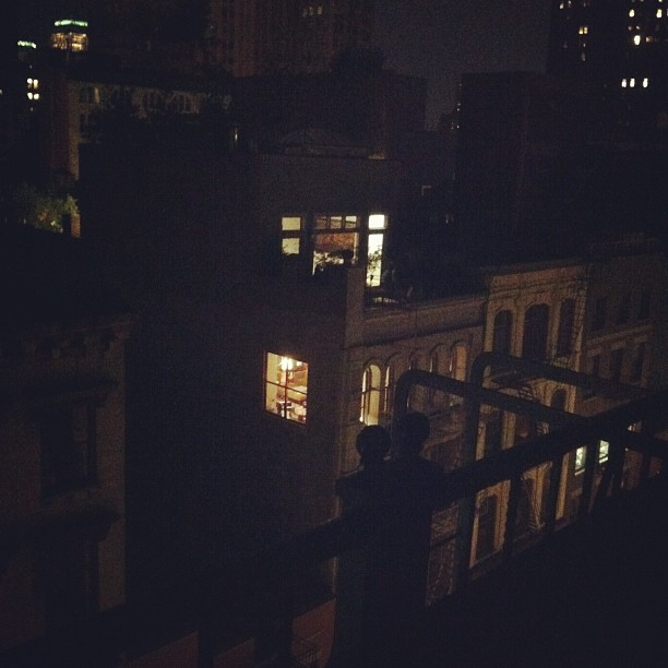 Supposedly Spike Lee's apartment.  (Taken with  Instagram )