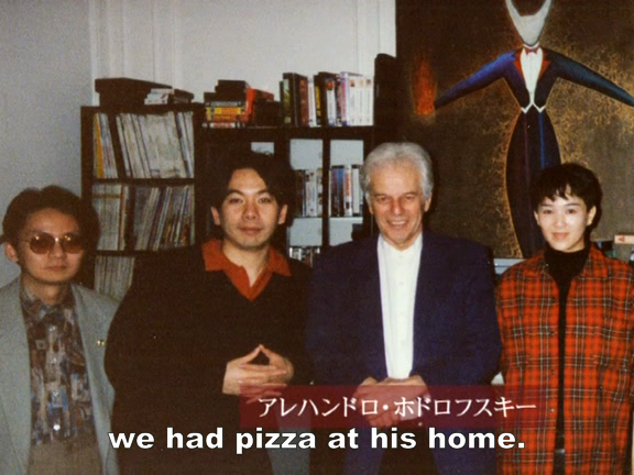 japansocietyfilm :     Shinya Tsukamoto and Alejandro Jodorowsky together. Also they apparently had pizza together. The world is sometimes beautiful.