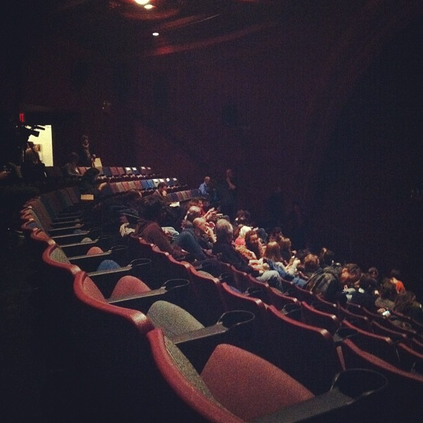 The abiding sadness of an in-person Herzog screening (Taken with  instagram )