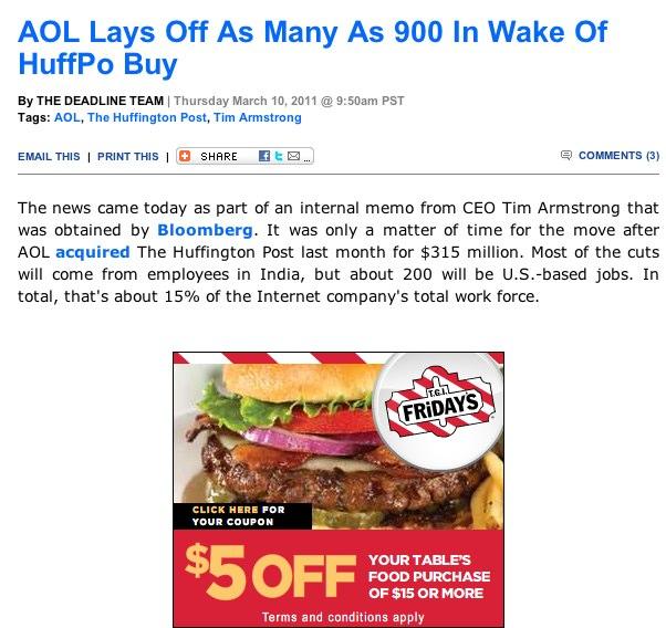 Man, Google Ads. Way to be a jerk.