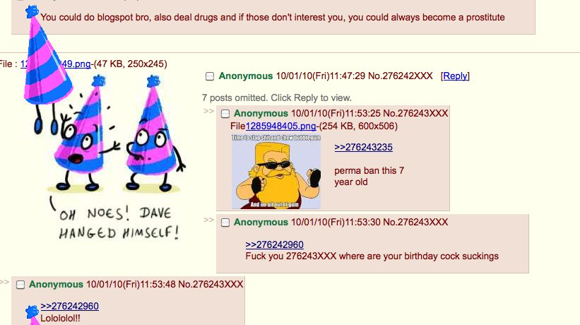 4chan is 7-years old today. Happy Birthday, 4chan.