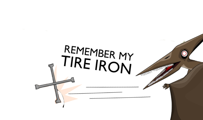 remember my tire iron gpoyw.
