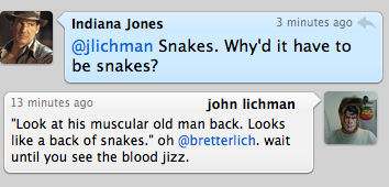 Because it's a motherfucking   bag of snakes , Indiana!
