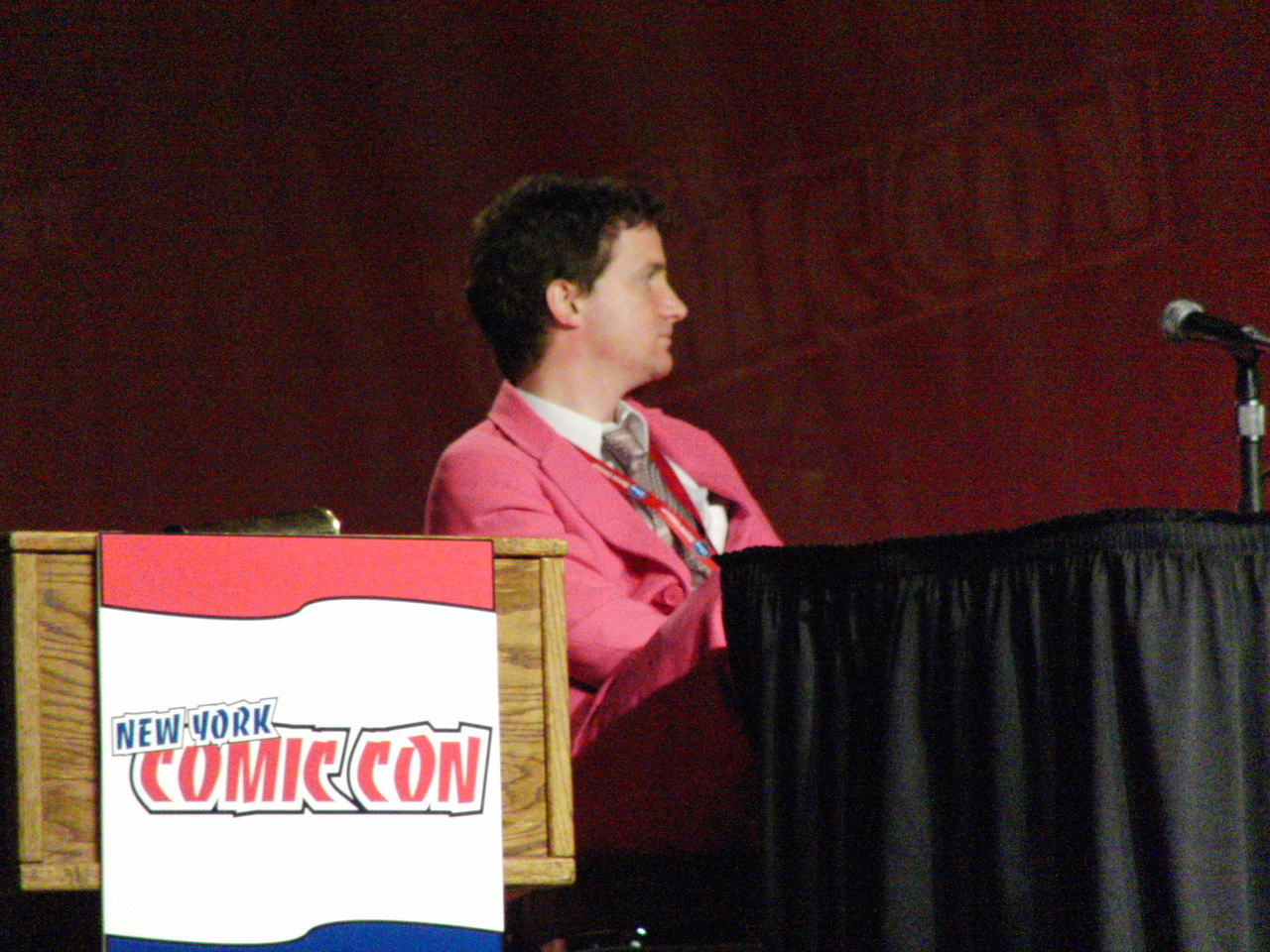 Grady Hendrix's Awesome Pink Suit.
