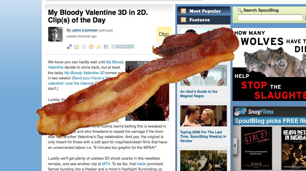 When Clips Meet Bacon.