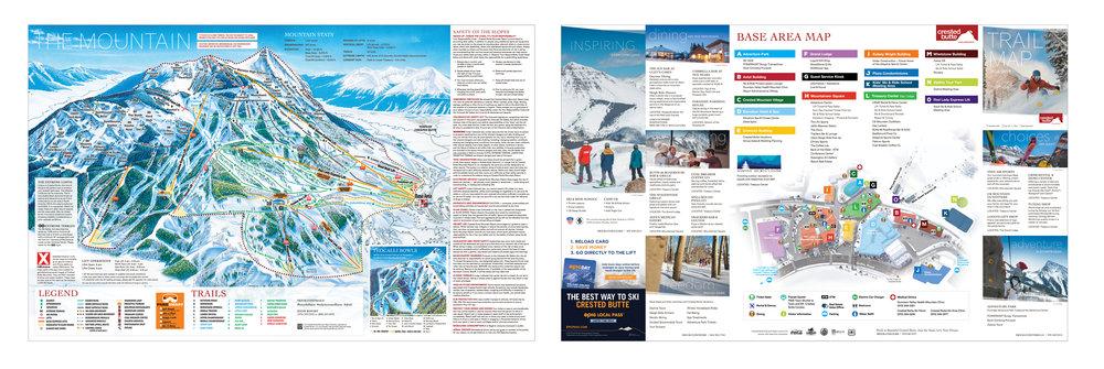 Ski Trail Map
