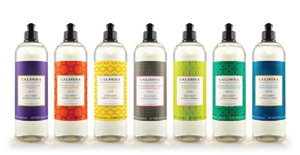 Caldrea cleaning products