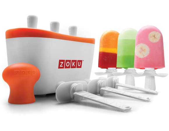 Zoku Ice Pops Available at Cobblestone Kitchenware Abbotsford