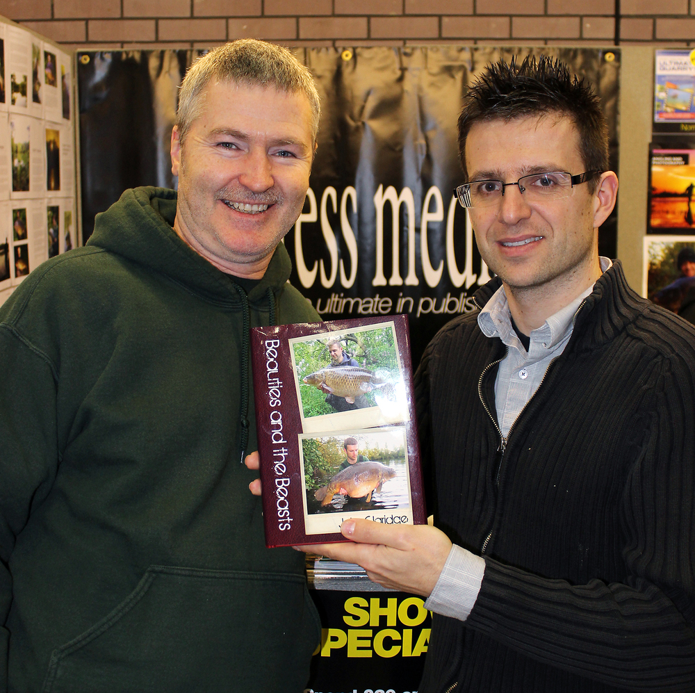 It was good to have a chat with John Claridge about his book