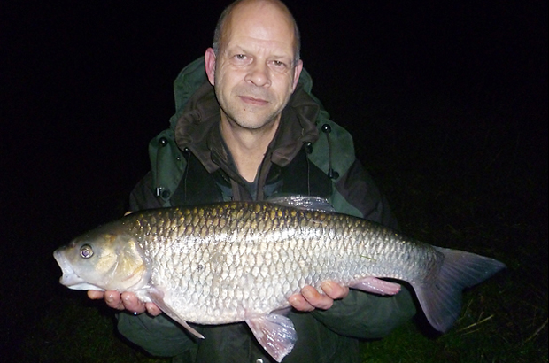 The stunning Lea chub, caught by Osprey member Simon King