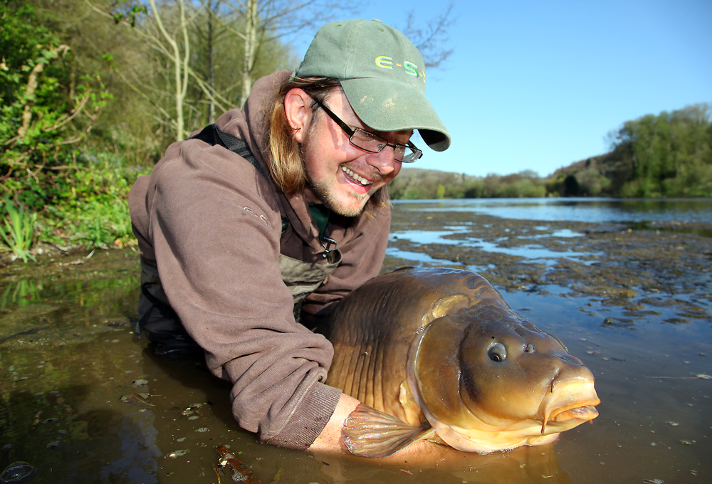 Martin returns one of the top fish at Abbas