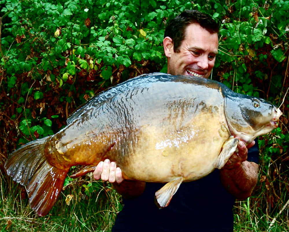 Dream fish, Shoulders, going 43lb 8oz, from Horton