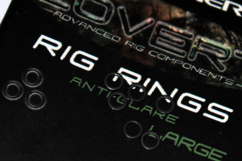 9) Take a large covert rig ring, this again coming from the covert range has the anti-glare coating on the ring making it inconspicuous.