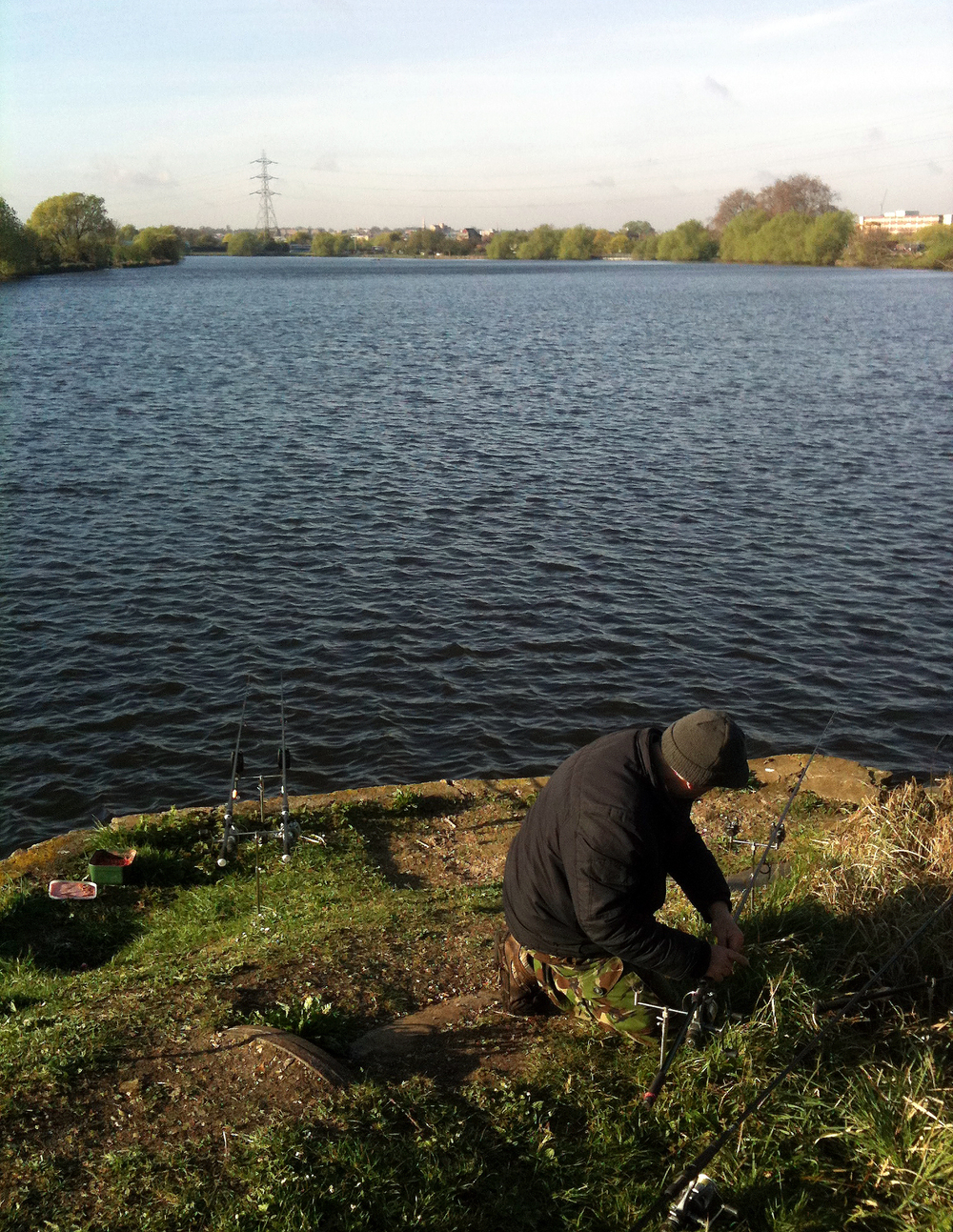 Walthamstow reservoir, and we're on the Lower Maynard