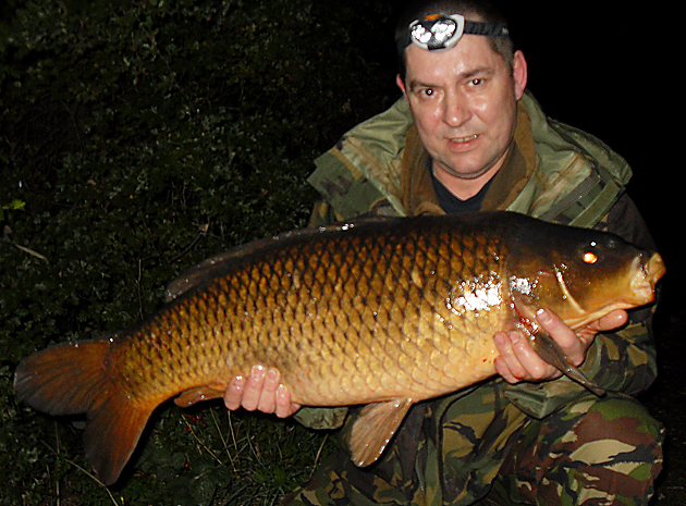 A bronze flanked common for Gary, at 20lb 6ozs