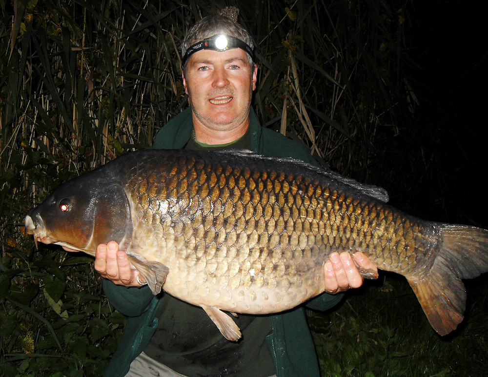 My personal best common at 29lb 8ozs, and yes I'm straining to hold it!