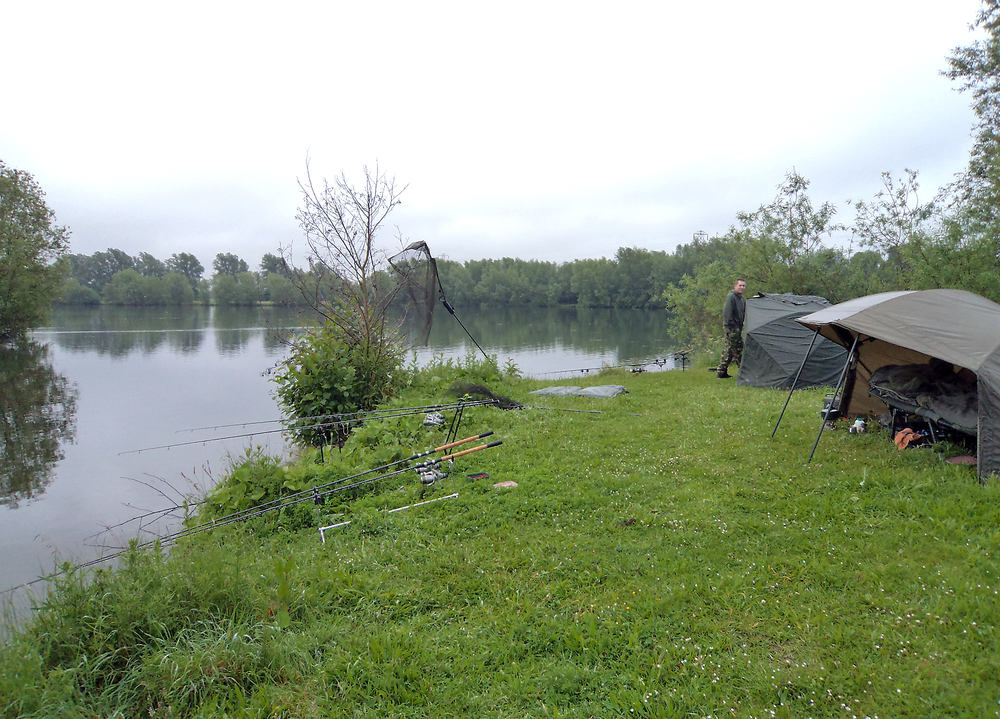 A grey start, but with regular baiting the fish are definitely in the area