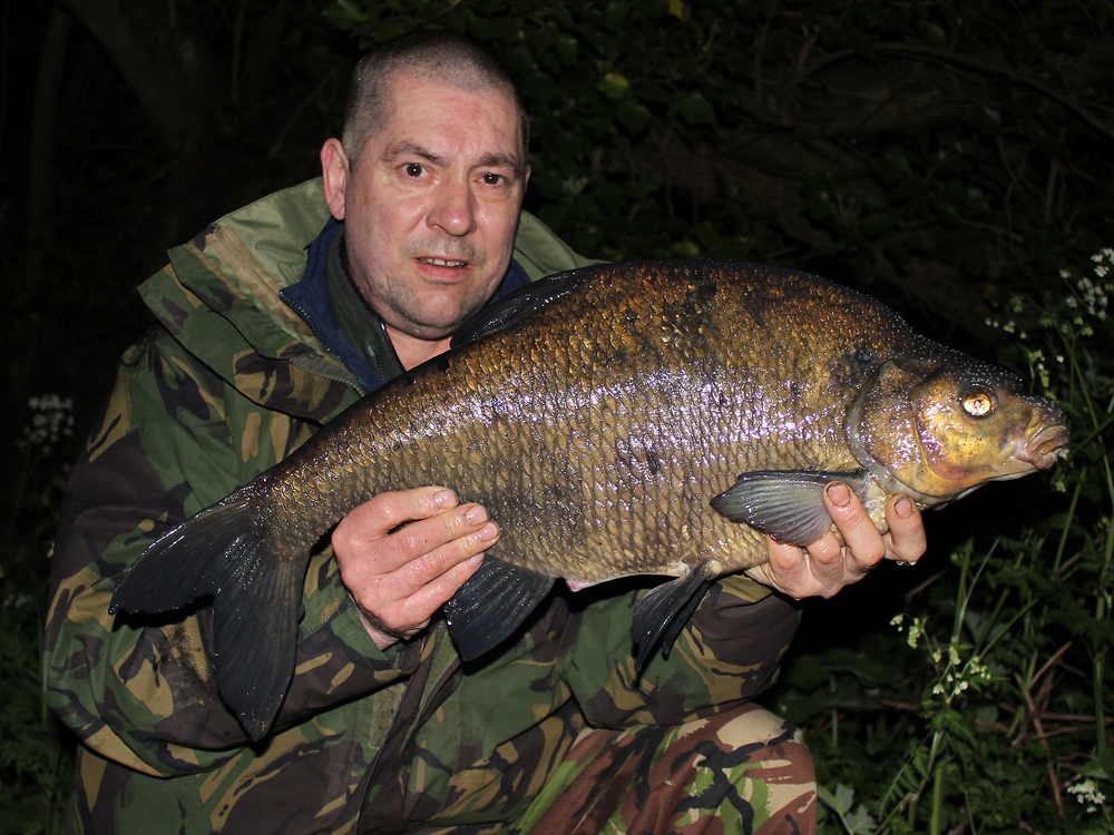 Bream number two... it seems like we've done a lot of work for two fish!