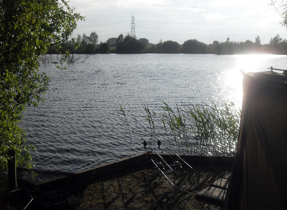 A first trip to a proper 'carp' lake.. don't think I caught