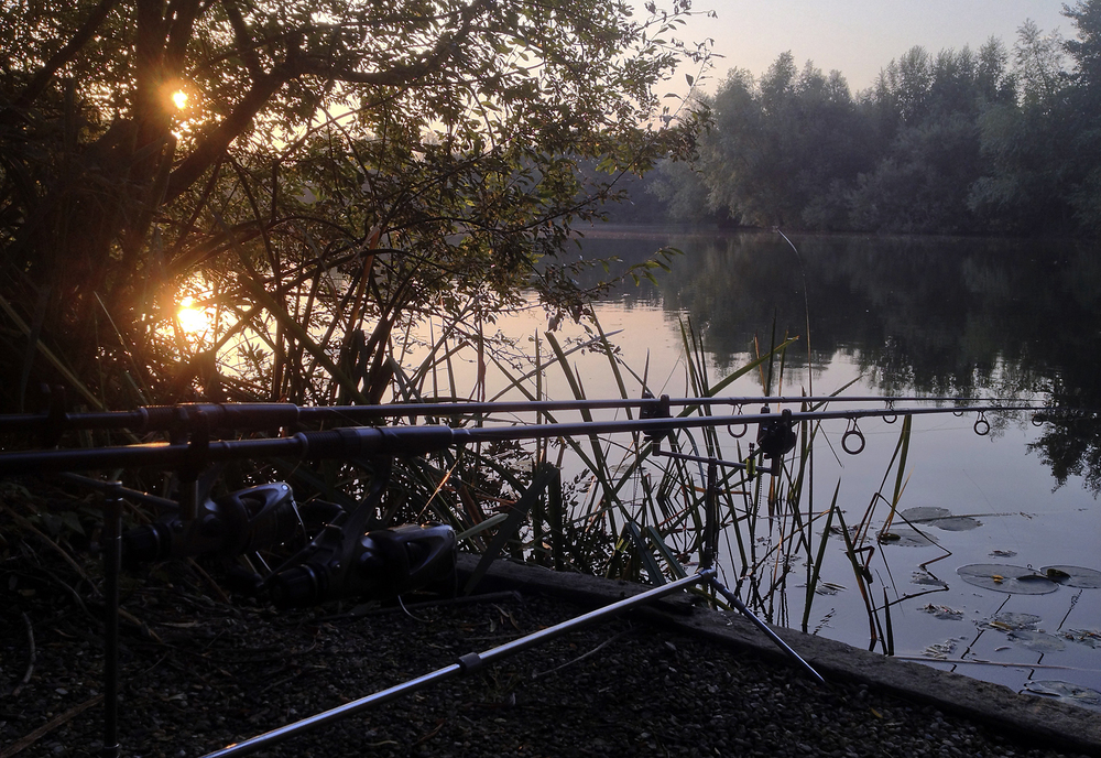 A gorgeous end to the day, and the finish of our carp chasing for this season