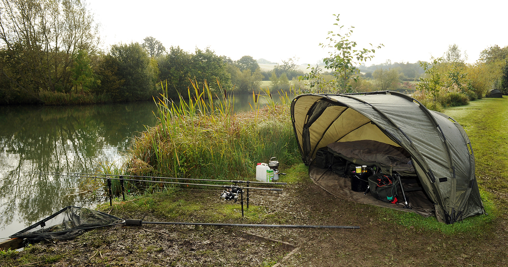 ...from bivvy to rods, to bank sticks to landing net