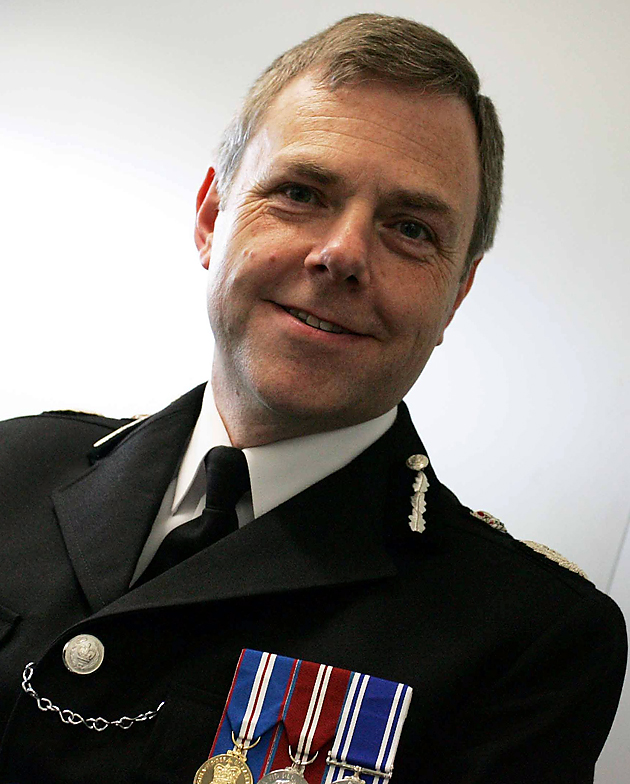 Chief Constable of Dyfed Powys, Simon Prince