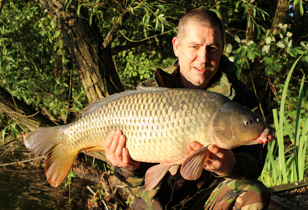 At last, Gary's got a nice carp to show for his efforts, we knew it was only a matter of time