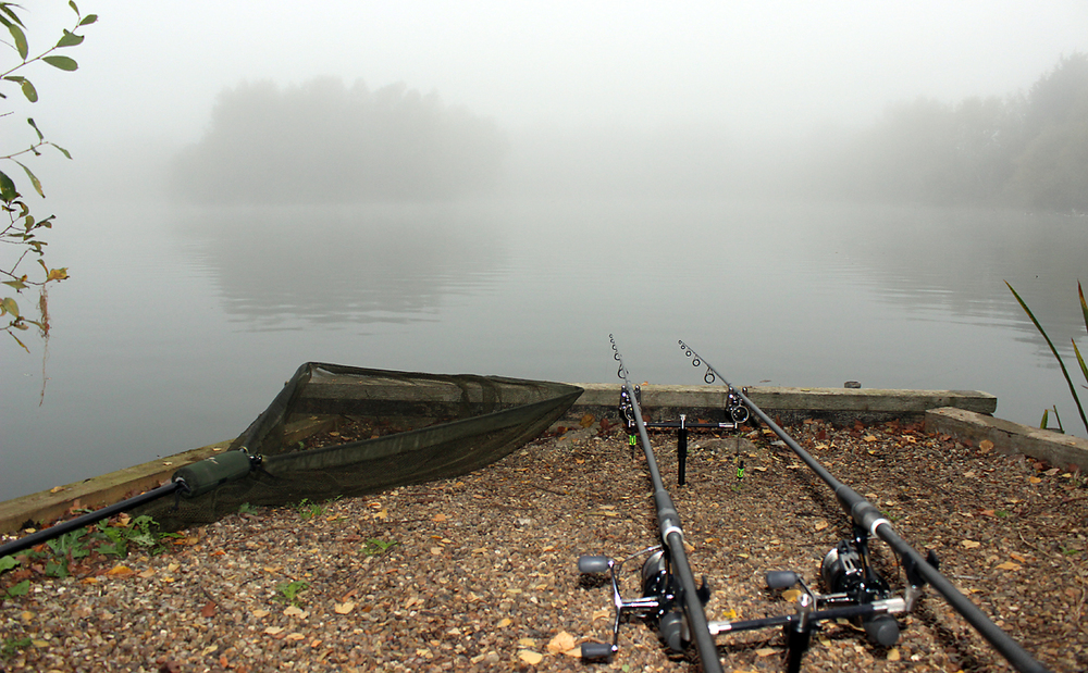 A session at the end of September brought us a misty morning... must be time for a cuppa!