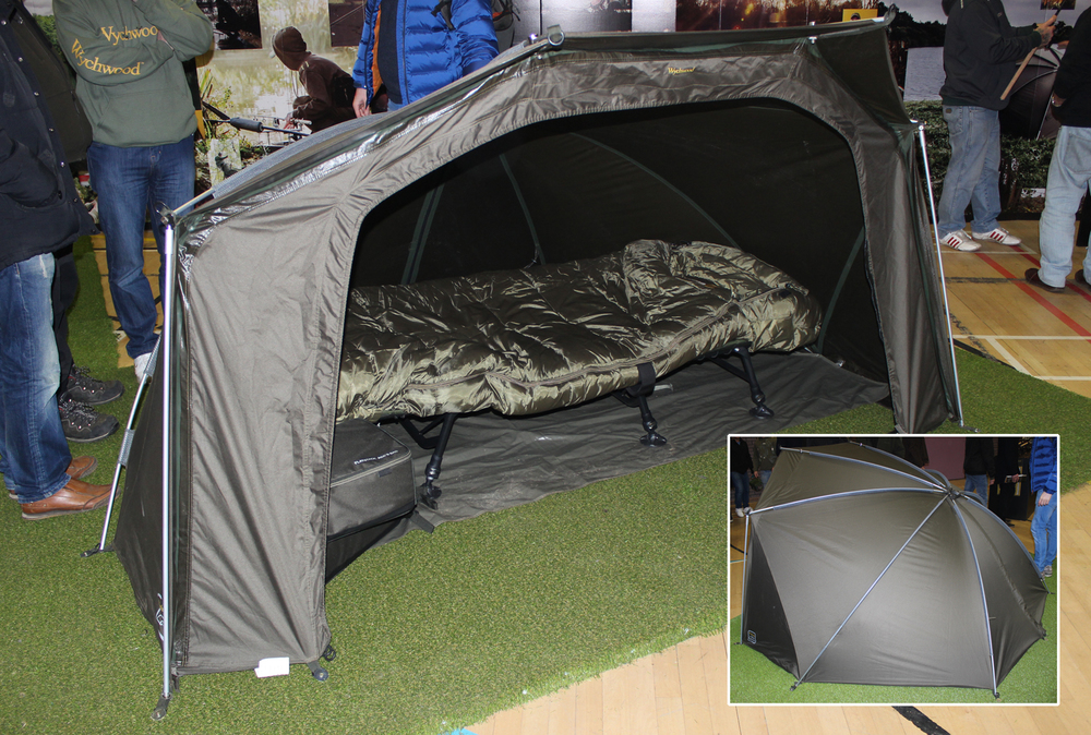 A camping we will go, and a very nice time would be had by all in this Wychwood bivvy